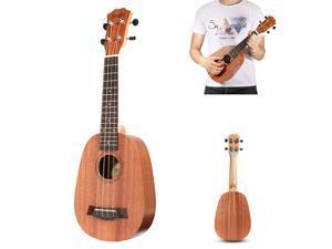 21 Inch Soprano Pinapple Mahogany Ukulele 4 Strings Hawaii Mini Guitar Children Gift