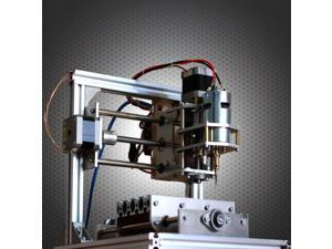 130 * 100 * 40mm DIY CNC 3 Axis Engraver Machine PCB Milling Wood Carving Router Laser Engraving Machine Kit