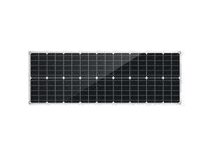 80W PET Flexible Dual USB Solar Panel DC Output Battery Charger Roof Boat Car