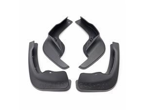 4pcs Front And Rear Car Mudguards Fender Splash Flaps For Nissan Qashqai 15-17