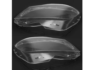 Pair Clear Car Headlight Lens Cover 4769886123 for Mercedes-Benz C-Class W204 Sedan Coupe 2011-2014