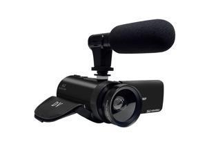 Professional CMOS 16 Megapixels 1080P 18X Digital Zoom Video Camcorder Digital Camera with 2.4 inch IPS HD Screen