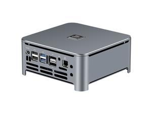 XCY X43 Mini PC Intel Core i7 8750H 8GB DDR4 240GB RAM Gaming Desktop Computer Hexa Core 2.2GHz to 4.1GHz DDR4*2 M.2 SATA DP HDMI Type-C