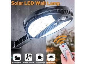 70 LED Remote Solar Power Wall Light PIR Motion Sensor Outdoor Solar Lights Garden Yard Lamp
