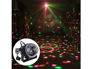 5W RGB LED Stage Light Disco Party Lights DJ Ball Indoor olored Dance Bulb Lamp UK Plug