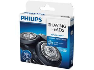 Replacement heads SH50 / 52 for Philips Norelco Series 5000 (S5xxx), 6000 (S6xxx), AquaTouch (AT8xx, AT7xx), 9 sharp blades, easy to cut and install
