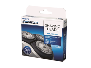 SH30/52 Replacement Shaving Heads Suitable for Philips Norelco Series 3000 2000, 1000 and S738 Electric Replacement Heads (Silver)(NEW)One Pack