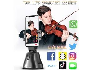 Selfie Stick 360 Rotation Face Object Auto Tracking Smartphone Holder for Hands Free Live Streaming and Video Calls Interactive Capture Smart Tracking Selfie Camera Mount Tripod for All Phone.