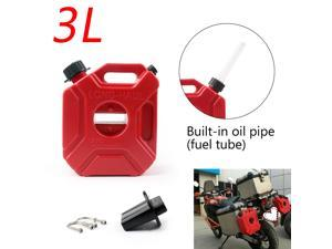 3L/5L Portable Jerry Can Gas Plastic Fuel Tank Petrol ATV UTV Motorcycle/Car Gokart Cans Gas Diesel Fuel Tank 5L