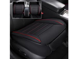Car Universal PU Leather Bamboo Charcoal Car Front Seat Cover Cushion Full Surround Breathable Car accessories