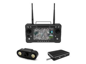 Skydroid H16 Pro 2.4GHz 16CH FHSS 20KM 1080P Digital Video Transmission and Data Transmission and Telemetry Transmitter with R16 Receiver and MIPI Camera for RC Drone