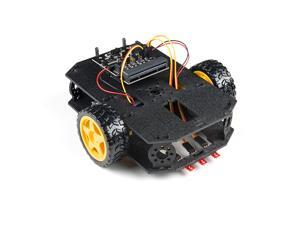 SparkFun micro:bot kit - v2.0 - Qwiic-enabled robotics platform Learn to build and program robots Includes Line Following Sensors Accelerometer Servos to make a jousting combat bot