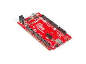 SparkFun RedBoard Artemis ATP Machine Learning Development Board Includes BLE 1 megabyte Flash USB-C connector Qwiic I2C MEMS microphone Program with Arduino IDE Run TenserFlow models Mega Footprint