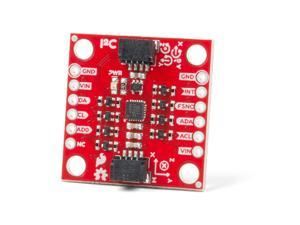 SparkFun 9DoF IMU Breakout-ICM-20948 Low power I2C & SPI enabled 9 axis motion tracking Includes Logic shifter Qwiic connection GPIO pins Digital Motion Processor Accelerometer Gyroscope Magnetometer