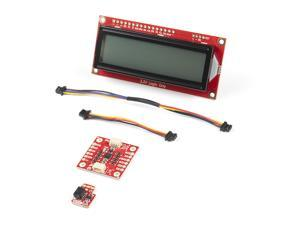 SparkFun Qwiic Shim Kit for Raspberry Pi (Not Included) - Also includes Qwiic SerLCD 9DoF IMU breakout & necessary cables