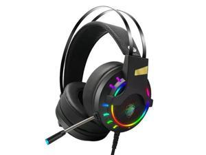 K3  7.1 Stereo Sound  RGB Backlit Effect USB Wired Gaming  Headset
