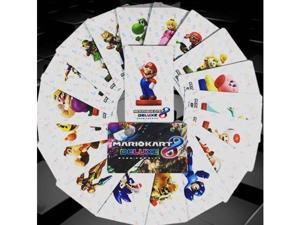20pcs Full Set NFC PVC Tag Card Mario Kart 8 Amiibo Cards for Nintendo Switch