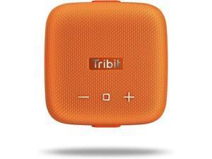 Tribit StormBox Micro Bluetooth Speaker, IP67 Waterproof & Dustproof Portable Outdoor Speaker, Bike Speakers with Loud Sound, Advanced TI Amplifier, Built-in XBass, 100ft Bluetooth Range, Orange