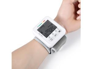 Automatic LCD Display Digital Wrist Cuff Blood Pressure Monitor Arm Meter Pulse Sphygmomanometer Heart Beat Meter 1