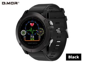 Smart Watch IP68 Waterproof IOS Android Cross-Border Explosion Model Pedometer Outdoor Sports SpO2 Heart Rate Monitoring During exercise, check your real-time heart rate to learn about your progress B