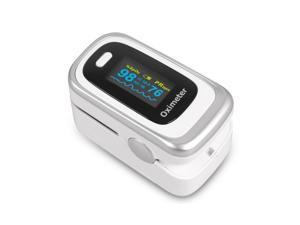 Finger Clip Oximeter LED Display Finger Pulse Blood Oxygen Saturation Monitor Monitor With Alarm and Breath Monitoring Function, Home and Sport Use,Blood Oxygen Saturation Monitor