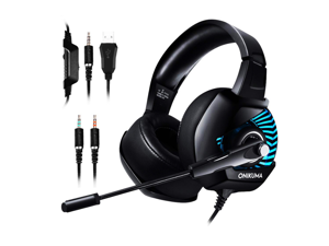 K6 gaming gaming headset Internet cafe computer PS4 headset 7.1 channel luminous headset microphone