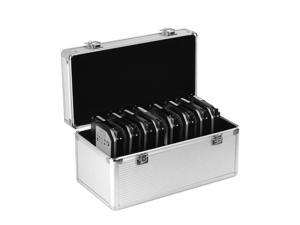 """GLOTRENDS Hard Drive Storage Box for Hard Drive Desktop Orgnizer, Space for 8x3.5"""" and 6x2.5"""" hard drive"""