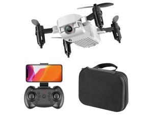 F86 FPV Mini Drone Professional HD 500 Million Pixels Cameras Wifi Foldable Drones With Camera High Hold Mode RC Quadcopters Drone Gifts ,White