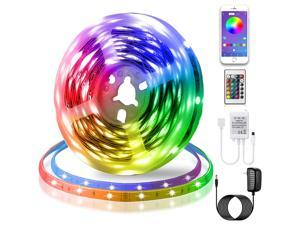 New Bluetooth Music Atmosphere Led Light Strip 10 Meters 300 Lights Suitable For TV, Bedroom, Party And Home Decoration