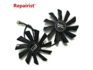 Replacement PLD10010S12HH 95MM 4Pin 12V 0.4A Cooler Fan For Graphics Card MSI R9 290X 280X 270X 260X Cooling system as replace