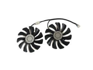 One Set GTX960 GPU Cooler Fan For MSI GeForce-GTX-950-2GD5T-OCV2 GTX-960-2GD5T-OCV2 Video Grahics Card Cooling As Replacement