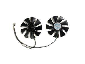 2pcs/set 85MM GA91O2H GPU VGA Cooler Fan For ZOTAC GTX 1070 Mini GeForce GTX1060 AMP Edition Video Graphics Card Cooling