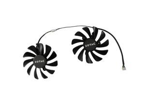 GeForce GTX 1080 Ti AMP Edition GPU VGA Alternative Cooler Cooling Fan For ZOTAC ZT-P10810D-10P gtx1080ti Video Cards Cooling