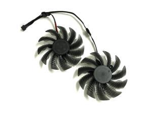 2pcs/lot GPU cooler Graphics card fans for REDEON R9 390X GIGABYTE GV-R939XG1 GAMING-8GD GV-R939G1 GAMING-8GD video card cooling