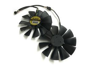 2pcs/lot R9 285/280 GPU Cooler VGA fan for ASUS STRIX-R9285 STRIX-R9280-OC video Graphics Card cooling as replacement