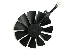 Computer video card Cooling Fan GPU VGA Cooler as replacement For ASUS R9 FURY 4G 4096 strix graphics card cooling
