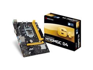 For Biostar H110MGC D4  DDR4 H110 Motherboard  LGA 1151 support G4560 SATA3 32G USB3.0 Micro-ATX
