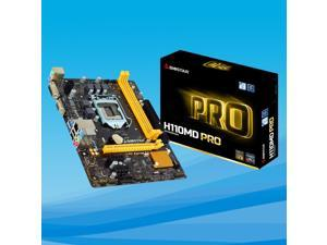 For Biostar H110M PRO-D DDR4 H110 Motherboard  LGA 1151 support G4560 SATA3 32G USB3.0 Micro-ATX