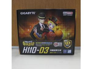 For Gigabyte GA-H110-D3 DDR4  Motherboard H110-D3 H110 LGA 1151 support G4560 Micro-ATX