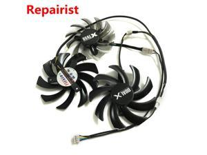 3Pcs/Lot graphics Card Fan VGA Cooler Fans for Sapphire R9 270X/280X/290/290X VAPOR-X OC TOXIC Video card cooling