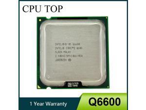 Intel Core 2 Quad Q6600 CPU Processor SL9UM SLACR 2.4GHz 8MB 1066MHz Socket 775 cpu