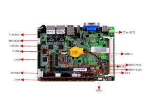 "Fanless J1900 CPU 3.5"" IPC SBC Embedded Motherboard Baytrail Mainboard with 6*COM 2*Giga NTWRK LVDS USB 3.0 Port"