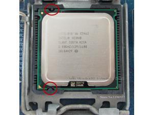 XEON E5462 2.8GHz 12M 1600Mhz CPU equal to Core 2 Quad Q9550 CPU works on LGA775 mainboard