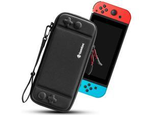 Carry Case for Nintendo Switch, Ultra Slim Hard Shell with 10 Game Cartridges, Protective Carrying Case for Travel, with Original Patent and Military Level Protection