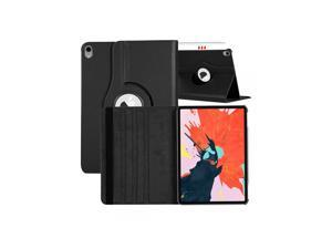 360 Degree Rotating Flip PU Leather Smart Case Cover For Apple iPad Air (2020) 10.9 / iPad Air 4 - Black