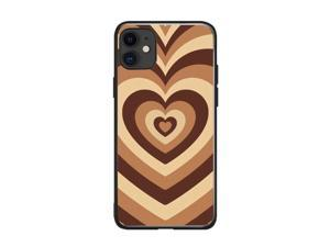 Soft Silicone Stylish Love Coffee Heart Design Back Phone Case Cover For Apple iPhone 11