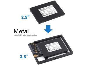 "3.5/"" to 2.5/"" SSD//Hard Drive Drive Bay Adapter Mounting Bracket Converter Tray EC"