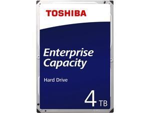 "TOSHIBA 4TB 7200RPM SAS 12Gb/s 512E 128MB 3.5"" Hard Drive - MG04SCA40EE"