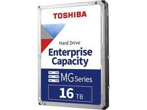 "Toshiba 16TB Enterprise HDD SATA 6.0Gb/s 512e 7200 RPM 512MB Cache 3.5"" Internal Hard Drive MG08ACA16TE"