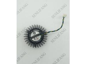 FOR DC BRUSHLESS FAN PLB05010S12H-3 12V 0.27A 55mm 9800GT 7800GTX GTS 240 Graphics Card Cooling Fan 4Wire 4Pin